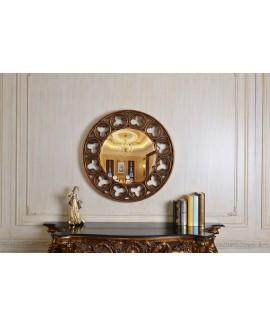 Celtic Round Mirror - Gold