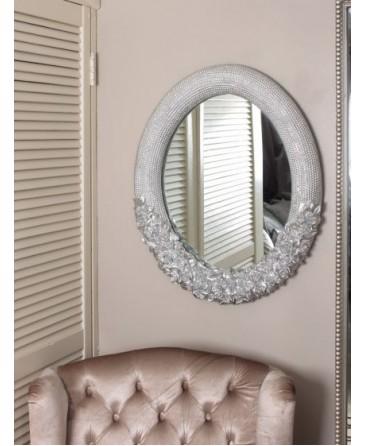 Tiber Mirror- Silver