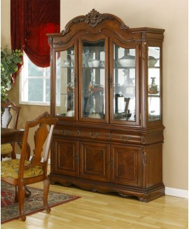 Marsais Large Glazed Display Cabinet