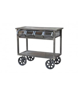 Guru 4 Drawer Trolly