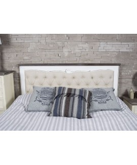 Upholstered Heart Headboard