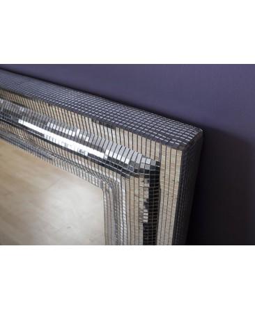 Rectangular Mosaic Glass Tile Mirror