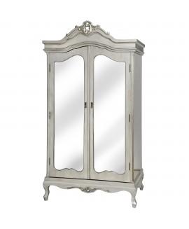 Argente Mirrored Wardrobe