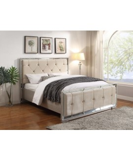 Sofia Bed- Cream